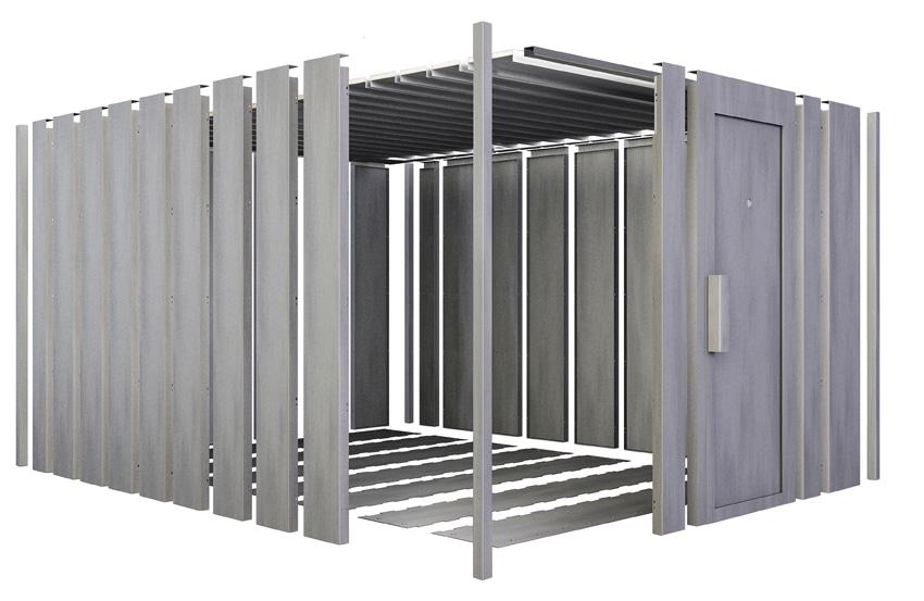 Sécurisez votre maison grâce au local modulaire sécurisé