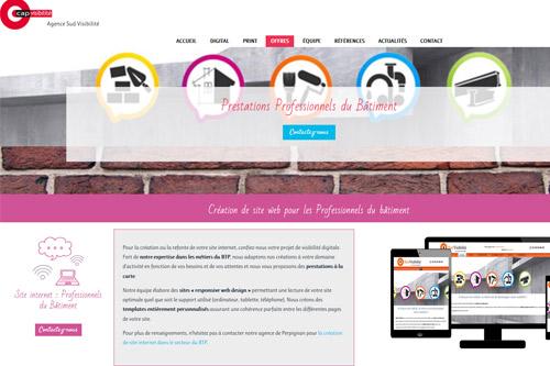SUD VISIBILITÉ : Professionnels du BTP en Occitanie, une agence dédiée à votre visibilité