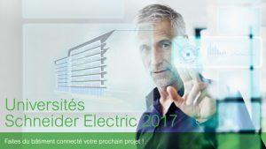 Les Universités Schneider Electric 2017 partent à la rencontre des professionnels Lyonnais du secteur du bâtiment