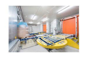 La sécurité en matière de travail en entrepôt frigorifique
