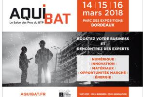 7ème édition d'Aquibat, le salon référent de la filière BTP en Nouvelle Aquitaine