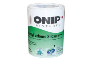Nouveaux atouts pour la peinture intelligente « Opacryl Velours Siloxane + ».