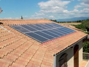 Panneau solaire et économie d'énergie