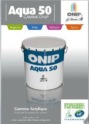 Peinture de finition Aqua 50