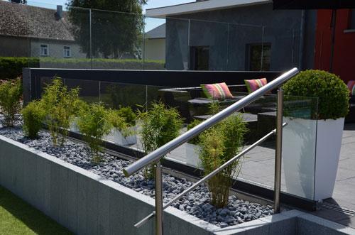 Le garde-corps en aluminium - La solution ideale pour votre jardin