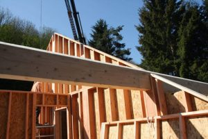 Maison en ossature bois
