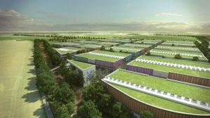 Paris-Asia Business Center : une construction parfaitement integree a son environnement