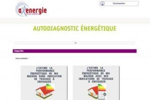Axenergie met à disposition des particuliers un outil d'auto-diagnostic énergétique professionnel