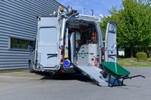 Aménagement de camionnettes utilitaire pour les professionnels