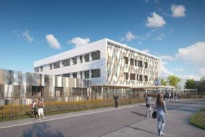 OBM CONSTRUCTION remporte la construction d'un collège avec de hautes performances énergétiques et environnementales à Villeparisis (77)