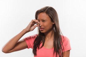 Drains malodorants
